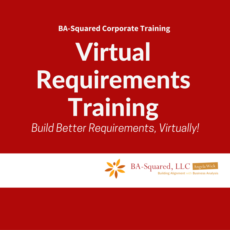 BA Squared Agile And Business Analyst Virtual Training